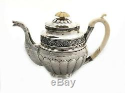 1830-1835, 84 Russian Silver Special And Rare Tea Set