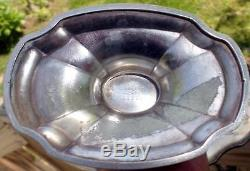 1921 Grosvenor Community Plate 5 pc Tea Set (2) Pots Creamer Sugar & 18 Tray