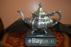 1950's Reed & Barton Hampton Court, Sterling Silver 5 Piece Tea & Coffee Set #660