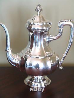 3324g NEW STERLING SILVER LAZZERINI ITALIAN 4 Piece Coffee Tea Set Service $7950