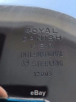 6 Pc Museum Quality Heavy International Sterling Royal Danish Coffee / Tea Set