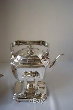 6 Pc Tiffany & Co. Hampton Sterling Silver Tea Set
