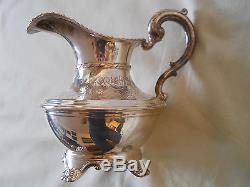 Absolutely Lovely 4 Pc Birks Regency Plate Coffee/tea Set