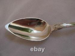 Antique French Sterling Silver Tea Spoons, Set Of 12, Late 19 Century