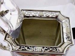 Antique Solid Silver TEA & COFFEE SET Hallmarked BIRMINGHAM 1906