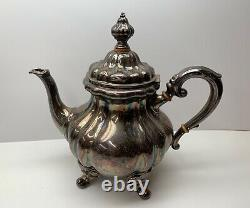 Antique Sterling Silver Tea Set 1766 Grams JB & SM Knowles