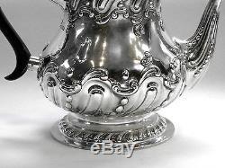 Antique Victorian Silver Tea & Coffee Set Sheffield 1900 (teapot, Coffee Pot)