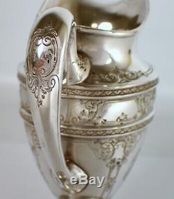 Antique Vtg J. S Co Barbour Silver International 210g Sterling Tea Set Creamer