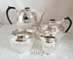 Antique sterling silver Tea set / service. Birmingham 1912/1917. By James Dixon