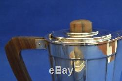 Art Deco French Silver Plate Tea Set Saglier Freres Tea set Tea Service