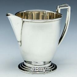 Art Deco Sterling Silver Teaset Birmingham 1935