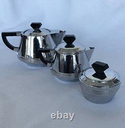 Art Deco vintage 3 piece tea set