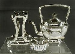 Arthur Stone Sterling Tea Set c1930 HENRY FORD