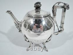 Ball, Black / Wendt Tea Set Antique Aesthetic American Sterling Silver