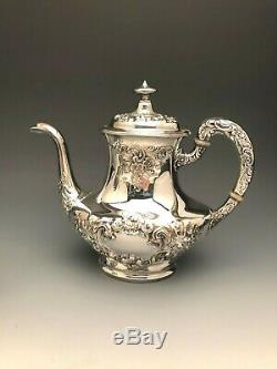 Buttercup by Gorham 5 piece Tea Set, Sterling Silver, Beautiful