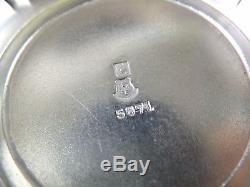 CHRISTOFLE Gallia Silver Plate EMPIRE Style 3 Piece Tea Set