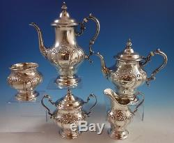 Chantilly Duchess by Gorham Sterling Silver Tea Set 5pc (#1998)