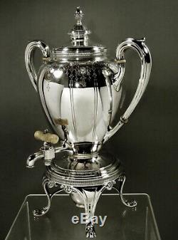 Dominick & Haff Sterling Tea Set c1900 78 Ounces