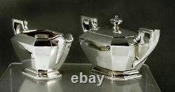 Durgin Sterling Tea Set c1940 FAIRFAX