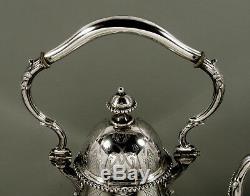 E Schurmann Silver Tea Set c1890 Silversmith to Kaiser Wilhelm