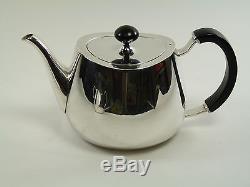 ELKINGTON & Co. Silver Plate PRIDE Pattern 4 Piece Tea Set