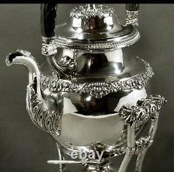 Edward Lownes Sterling Tea Set c1825 MUSEUM