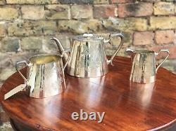 Edwardian Silver Plate Tea / Coffee Set