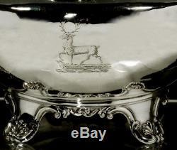 English Sterling Silver Tea Set 1830 JOHN & JOS ANGELL