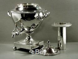 English Sterling Tea Set 1808 HAMILTON CREST