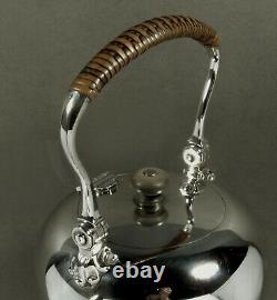 English Sterling Tea Set Peter Guille QUEEN ANNE