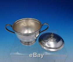 Exemplar by Watson Sterling Silver Tea Set 5-Piece withSP Tray c. 1714-1727 (#4574)