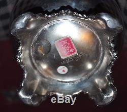 F. B Rogers Silver Co 1883 Silverplate 5 Pc Coffee Tea Service Set