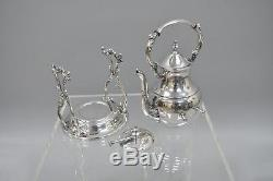 F. B. Rogers Silver Co. 7 Piece Silver Plate Coffee Tea Set Platter Serving Tray