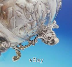 Francis David Dexter English Victorian Sterling Silver Tea Set 3pc (#3645)