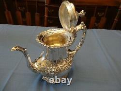 Francis I Sterling Tea Set by Reed & Barton, original owner, mint, superb
