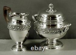French Sterling Tea Set c1910 LAPPARRA & GABRIEL