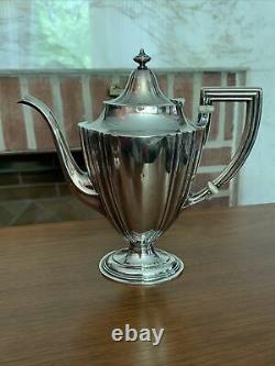 GORHAM Sterling Silver Plymouth 5 Piece Tea Coffee Set No Monogram