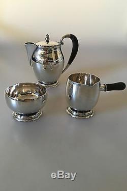 Georg Jensen Sterling Silver Coffee / Tea Set #34