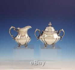 Georgian Rose by Reed and Barton Sterling Silver Tea Set 4pc #670 (#3062)