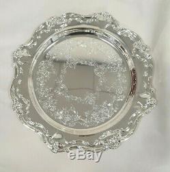 Gorham Centennial Chantilly Silver plated Coffee Tea Set 4 Style No YC3300