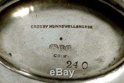 Gorham Silver Bowl c1859 SAME HALLMARK LINCOLN TEA SET SMITHSONIAN