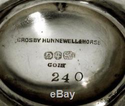 Gorham Silver Pitcher c1859 SAME HALLMARK LINCOLN TEA SET SMITHSONIAN