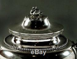 Gorham Silver Tea Set c1859 CHINESE MANNER 91 Ounces