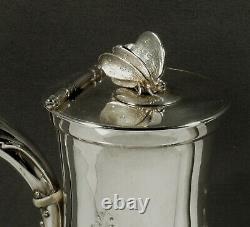 Gorham Silver Tea Set c1859 President Lincoln
