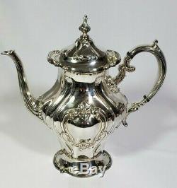 Gorham Silverplate CHANTILLY 5 pc. Coffee Tea Set with 27 Tray pot teapot creamer