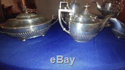 Gorham Sterling Silver 7 Piece Coffee And Tea Set