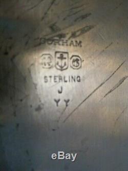 Gorham Sterling Silver Chantilly Grand Serving Tray Tea Set Platter 1034 Grams