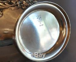 Gorham Sterling Silver Tea Set Coffee Tea Sugar Creamer Waste Tray Buttercup