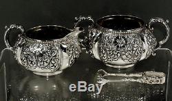 Gorham Sterling Silver Tea Set c1920