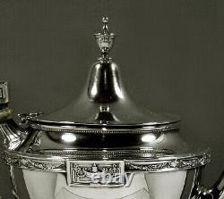Gorham Sterling Silver Tea Set c1940 LANSDOWNE